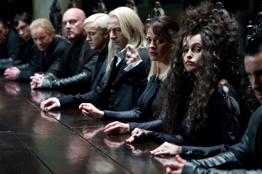 Harry Potter and the Deathly Hallows: Part I the death eaters