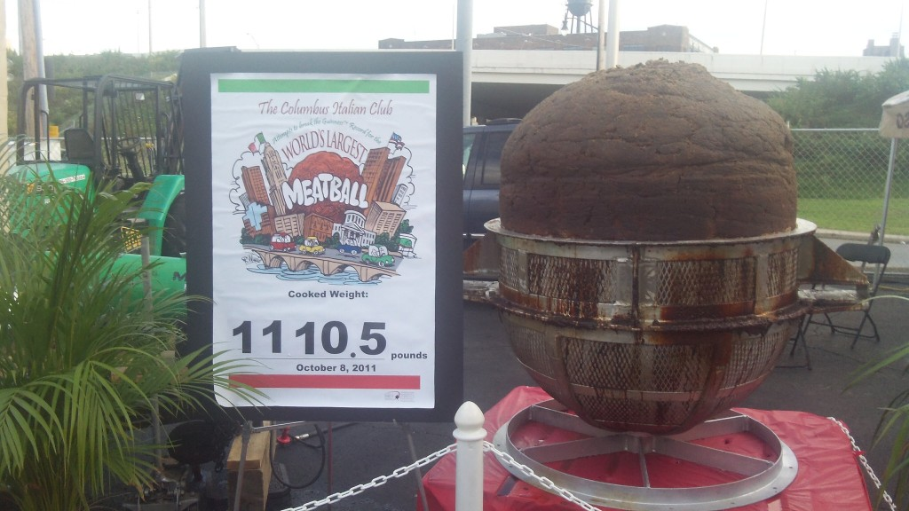 the world's largest meatball