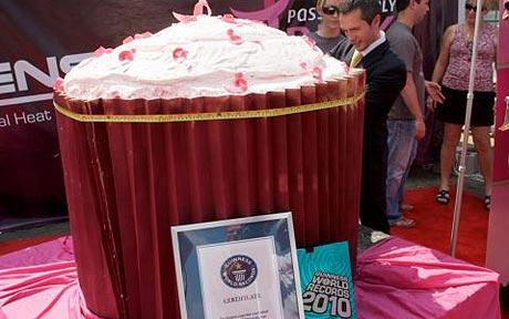 the world's largest cupcake