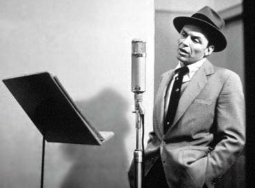 Frank Sinatra singing