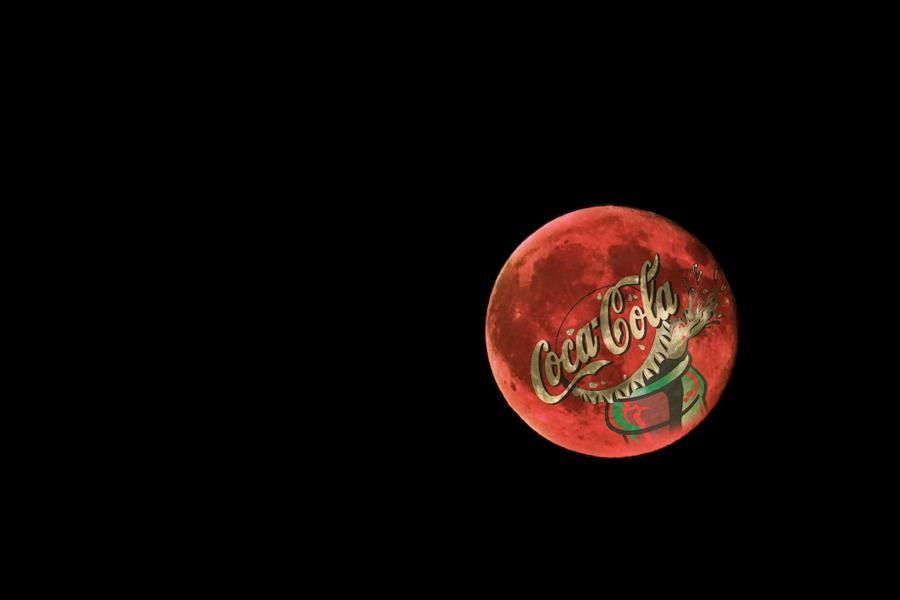 Coke moon