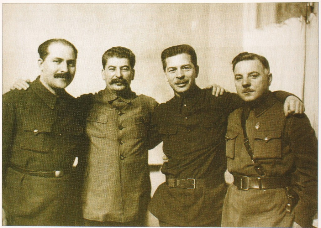 Stalin and guards