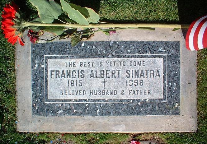 Sinatra tombstone