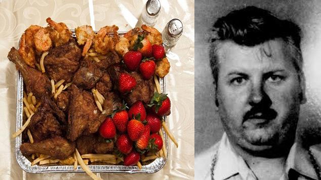 John Wayne Gacy's last meal