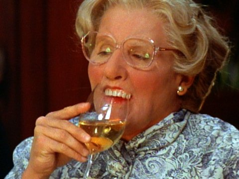 Mrs Doubtfire teeth scene