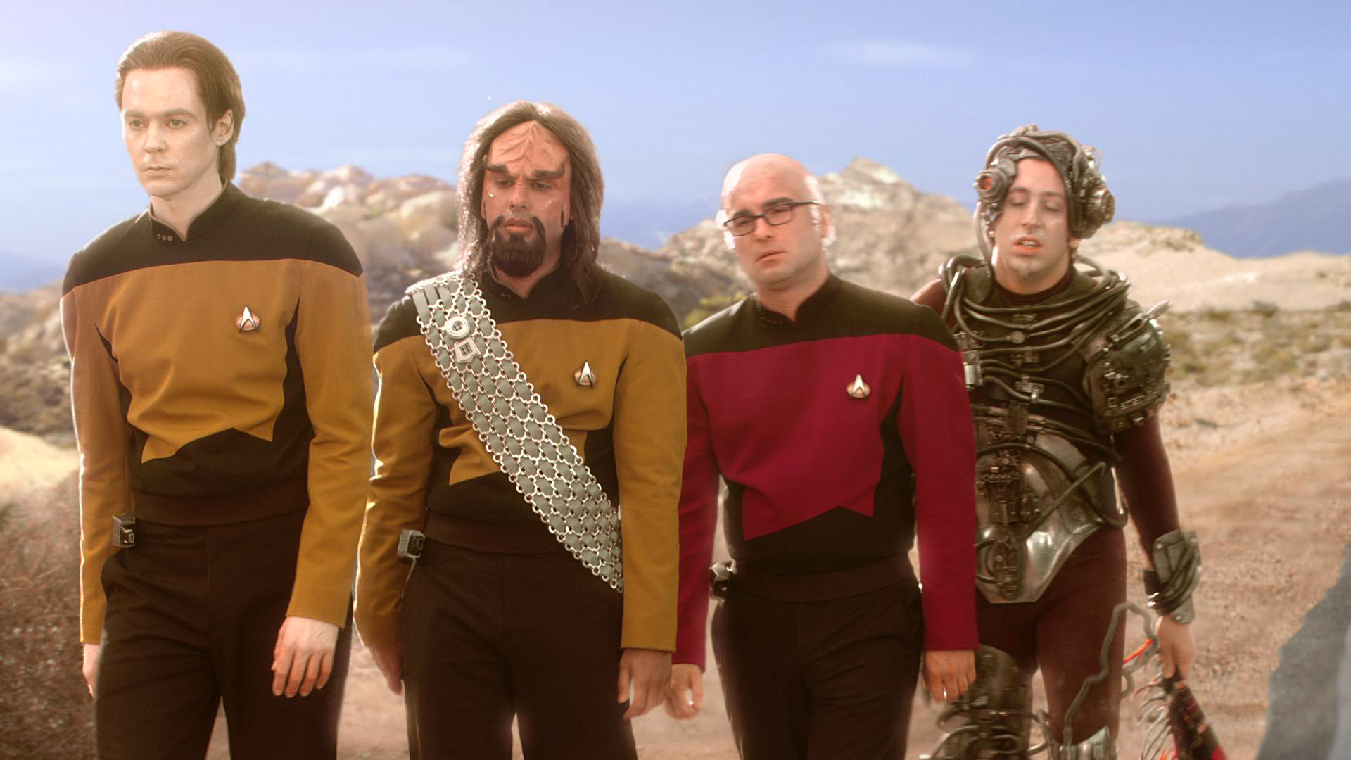 The Big Bang Theory Star Trek