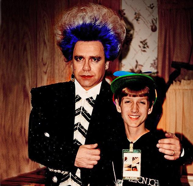 Elton John and Ryan White