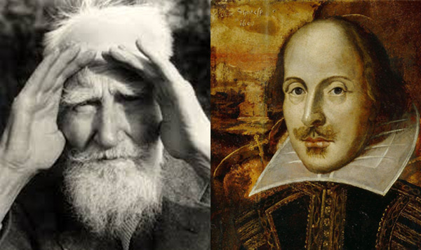 shaw vs shakespeare