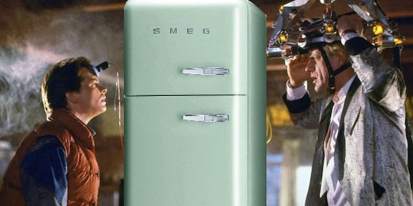 Back to the Future fridge