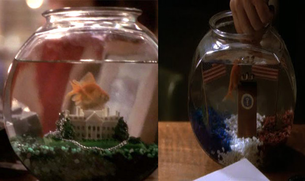 The West Wing goldfish