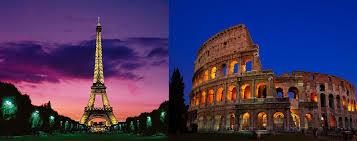 Paris and Rome