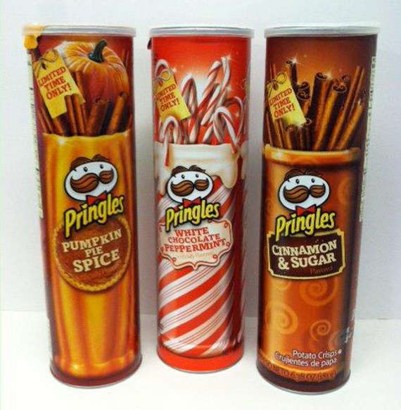 festive Pringles