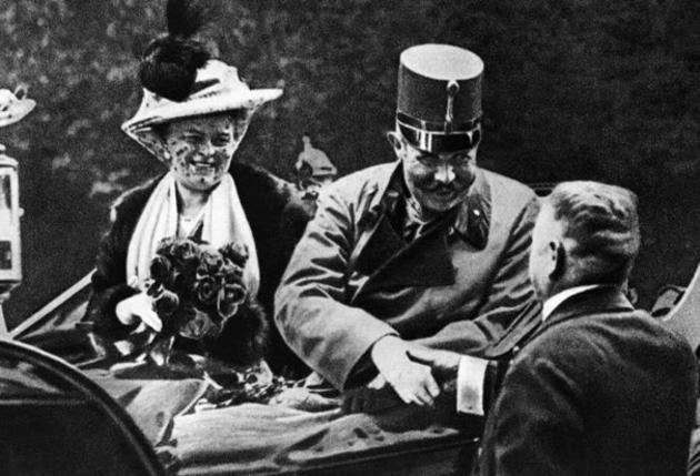 Archduke Franz Ferdinand and his wife