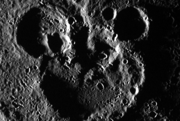 Mickey Mouse shape Mercury