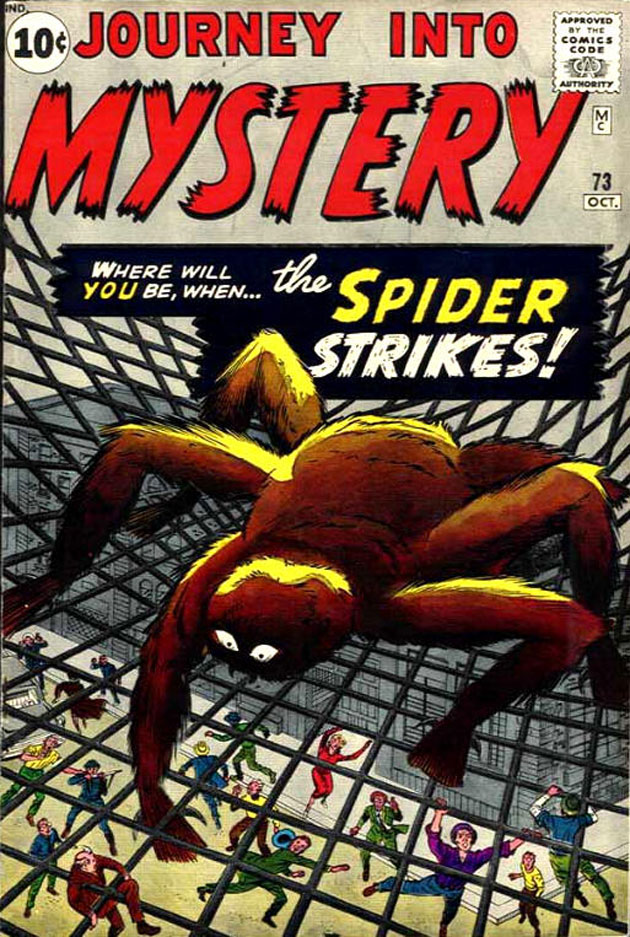 first spiderman comic