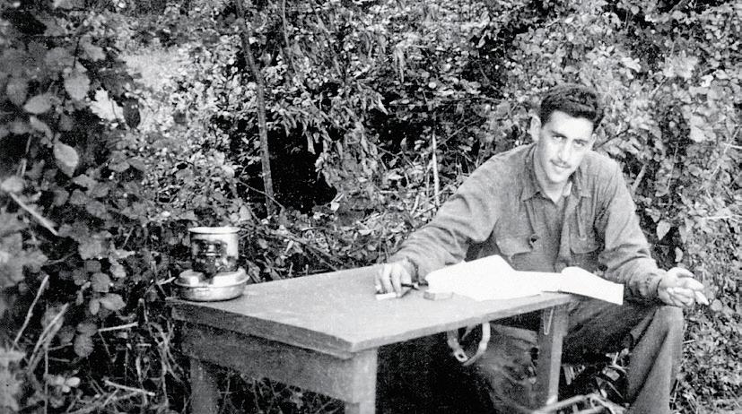 J.D. Salinger WWII