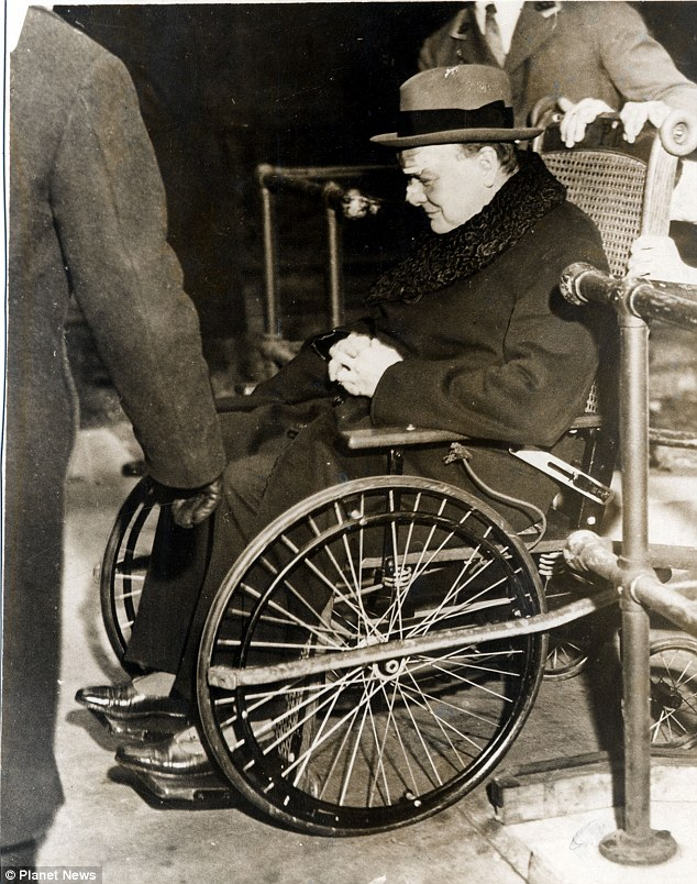 Winston Churchill new york accident
