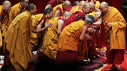buddist monks