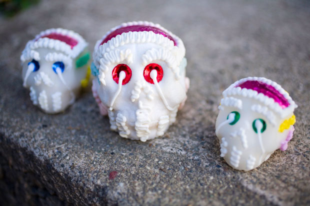 Skulls from Day of the Dead