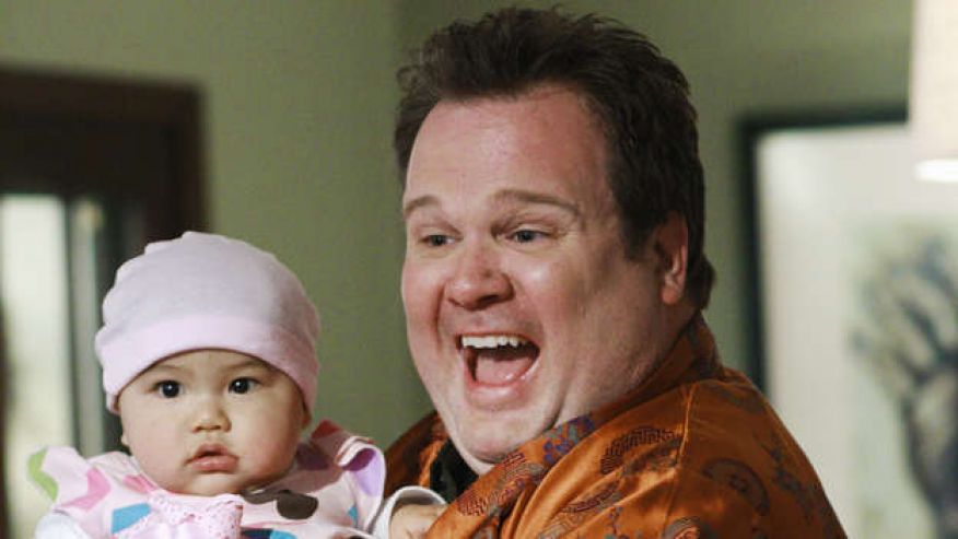 Cam and Lily Modern Family