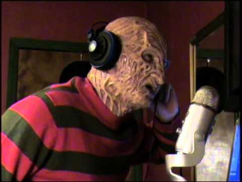 Freddy Krueger singing