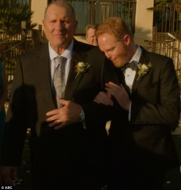 Jay and Mitch Modern Family