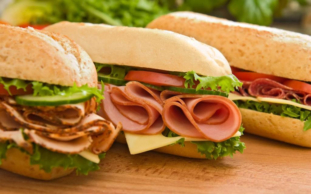 subway sandwiches