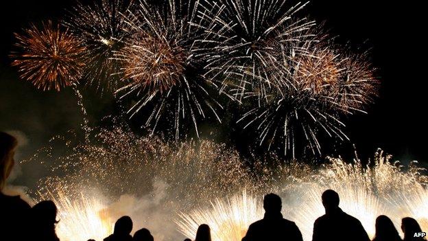 fireworks bonfire night