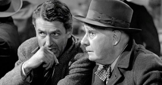 clarence and george bailey