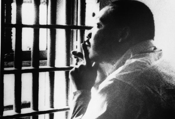 Martin Luther King Jr in jail