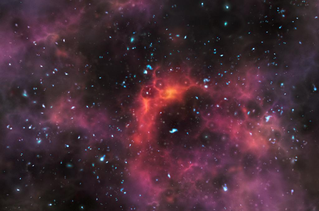 universe reionization
