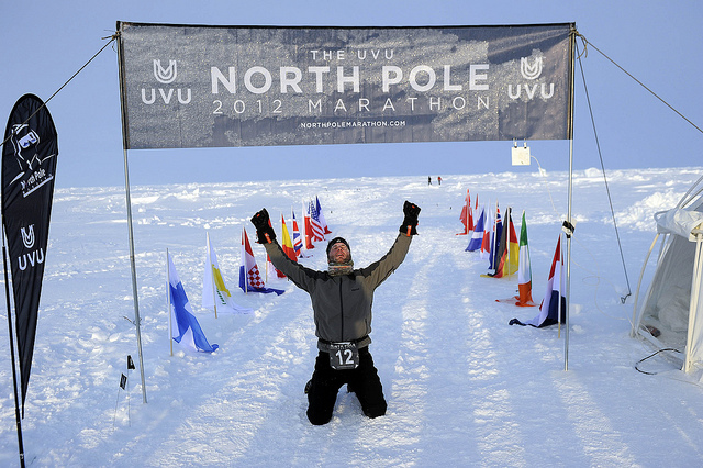 North Pole marathon