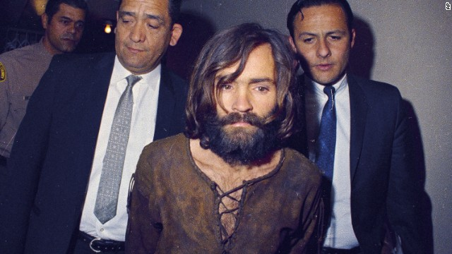 Charles Manson arrested