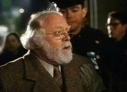 Miracle on 34th Street santa claus arrested