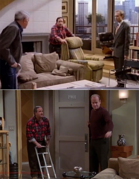 Frasier delivery man
