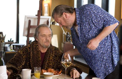 Ray Winstone with Jack Nicholson in The Departed still