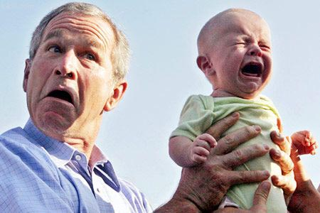 George W Bush funny photo