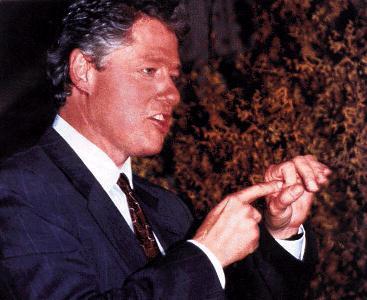 Bill Clinton Funny photograph
