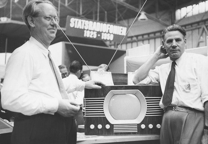 John Logie Baird and Philo Farnsworth