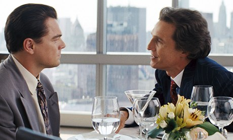 The Wolf of Wall Street leonardo dicaprio and matthew mcconaughey