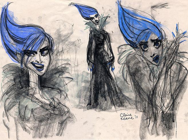 The original Elsa art concept