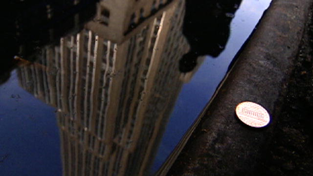 penny by the Empire State Building