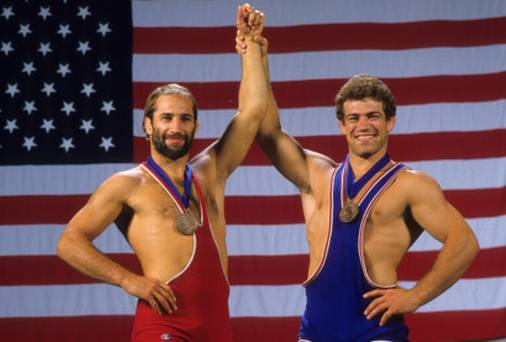 the real Dave and Mark Schultz