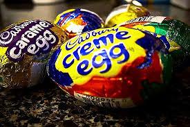 Different creme eggs