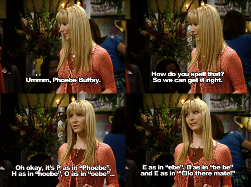 Phoebe Buffay quotes