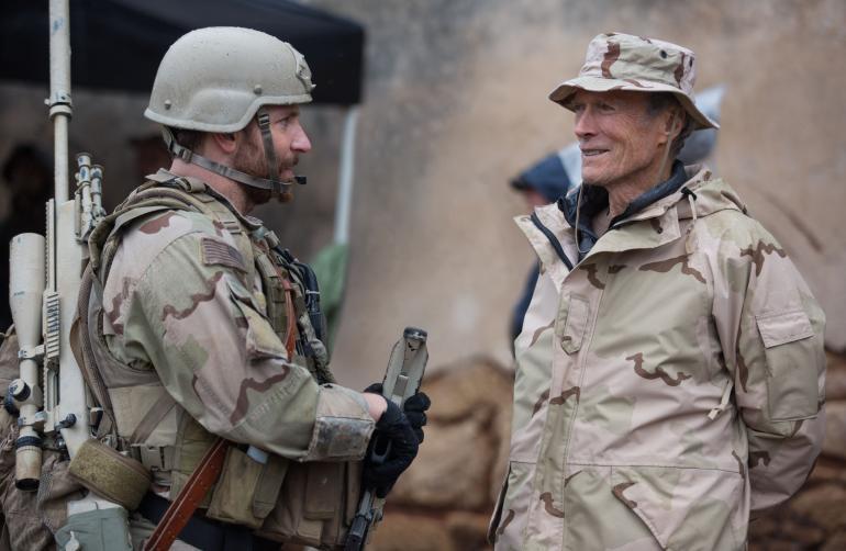 American sniper clint and bradley