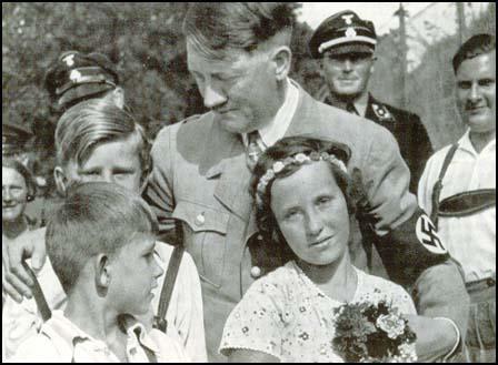 Hitler with children