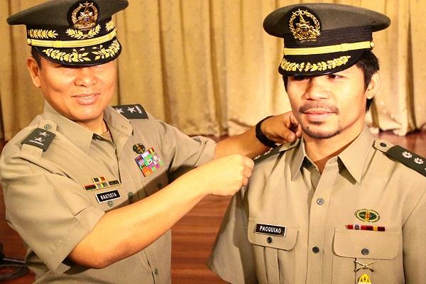 lieutenant Colonel Manny Pacquiao