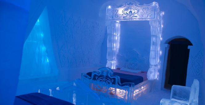 frozen suite hotel de glace