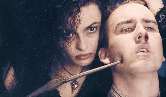 Bellatrix and Neville